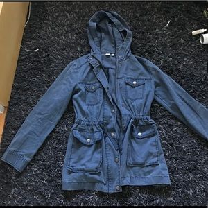 Nordstrom BP durable and styled canvas jacket!